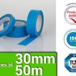 paper blue masking tape